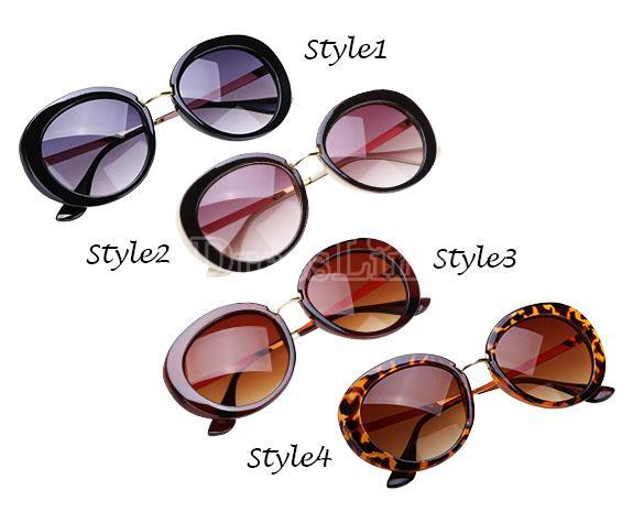 Hot Fashion Summer Women Retro Stylish Mirrored Outdoor Eyewear Sunglass