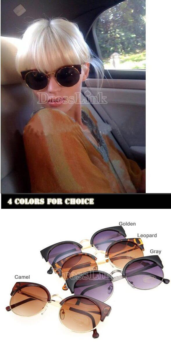 New Classic Retro Unisex Fashion Vintage Style Sunglasses