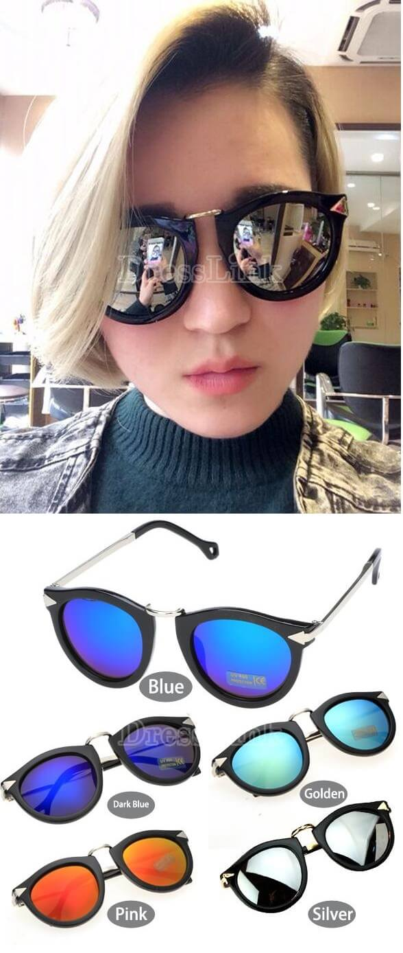 New Fashion Classic Retro Women Lady Stylish Vintage Style Sunglasses