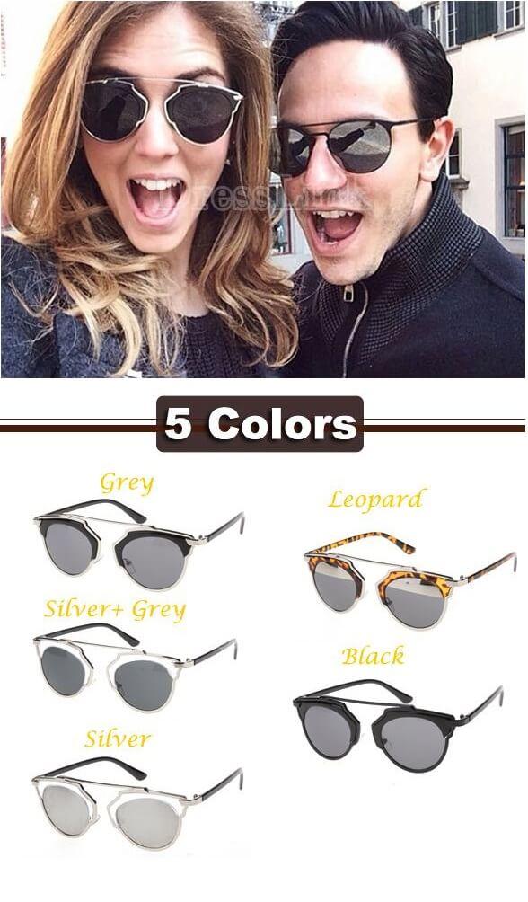Newest Stylish New Fashion Modify Glasses Outdoor Casual Retro Sunglasses