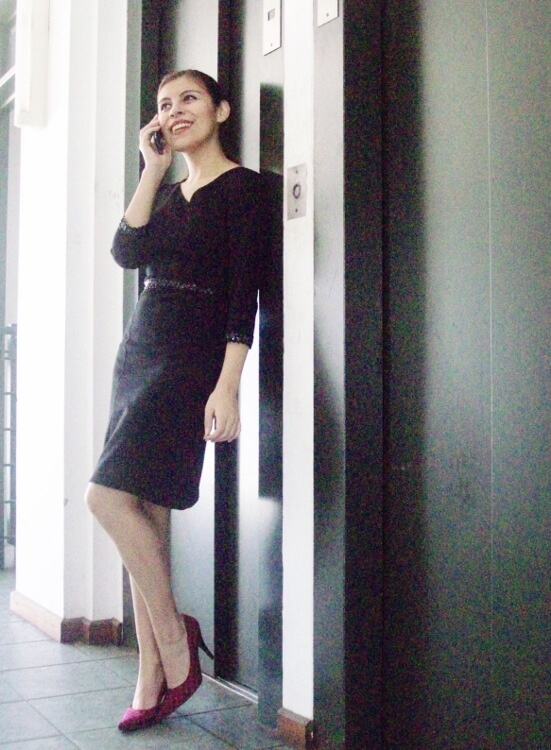 lbd-black-dress-houndstooth-shoes-stilettos-office-chic-stylish-officewear01