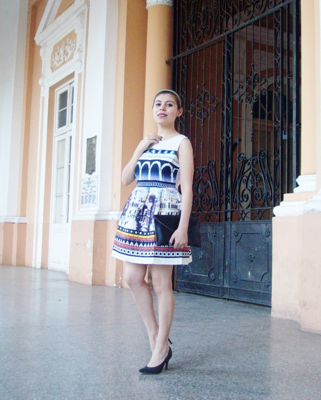 newdress-landscape-printed-fit-and-flare-dress-black-clutch-deborah-ferrero-blog-editorial08