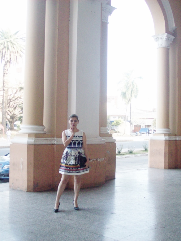 newdress-landscape-printed-fit-and-flare-dress-black-clutch-deborah-ferrero-blog-editorial09