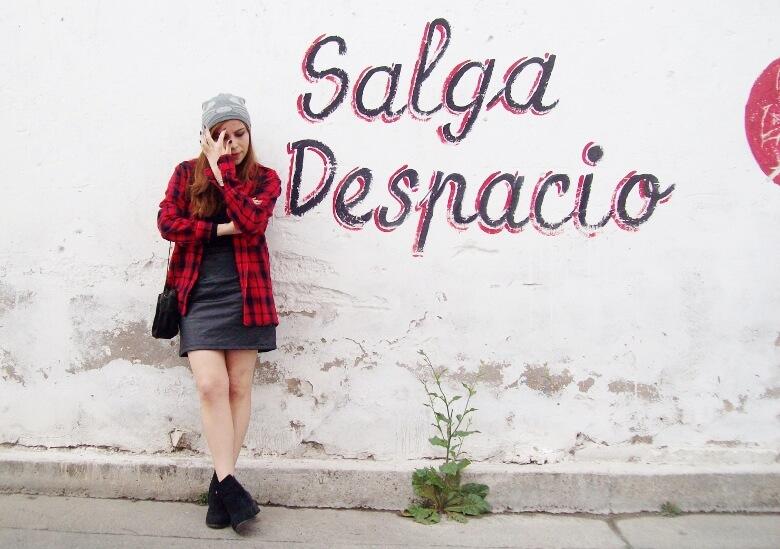 tartan-plaid-shirt-leather-mini-skirt-black-turtleneck-fall2015-ankle-boots15