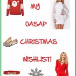 THE CHRISTMAS COUNTDOWN: OASAP WISHLIST