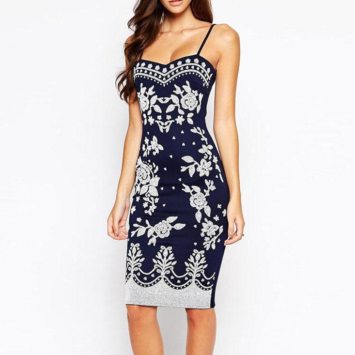 navy-spaghetti-straps-floral-print-midi-dress
