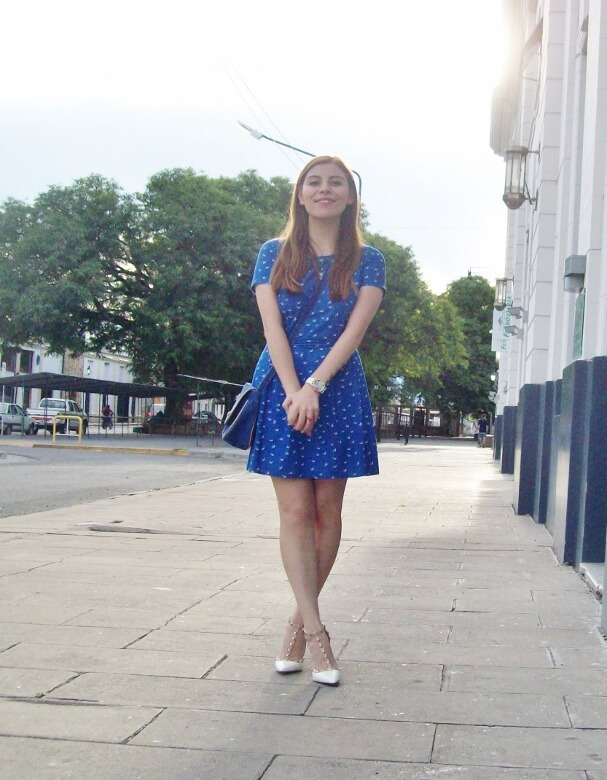 blue-dress-sammydress-rockstud-white-stiletto-pumps-streetstyle-summer2016-trends15