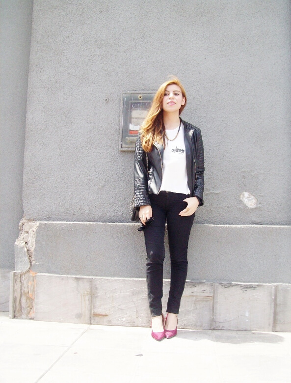 new-york-white-tshirt-james-dean-style-fuchsia-shoes-zaful-biker-faux-leather-jacket02
