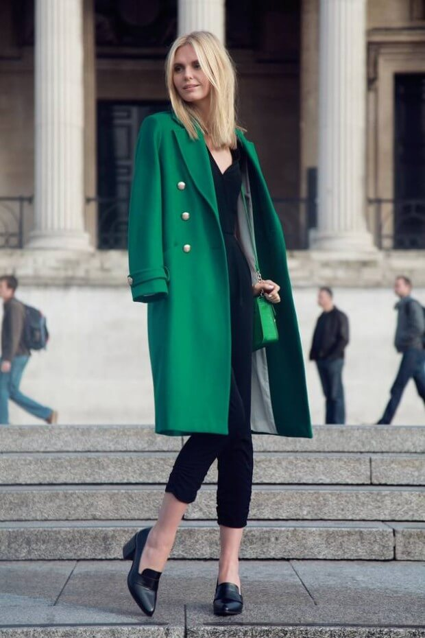 02 - tuulavintage - long green coat stylish st patricks outfit ideas