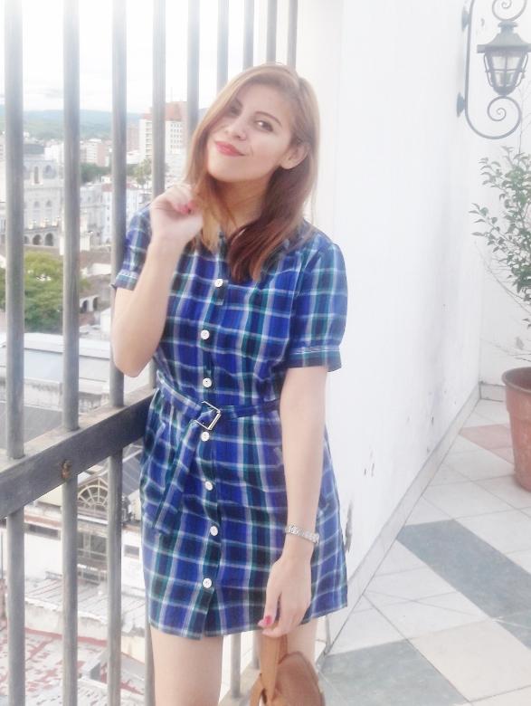 shirt-dress-blue-plaid-tartan-white-converse-fall2016trends-deborah-ferrero-stylebydeb13