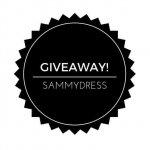 GIVEAWAY: SAMMYDRESS SUPER NOVEMBER + BLACK FRIDAY & CYBER MONDAY SALE