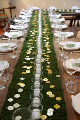 st patricks table setting idea