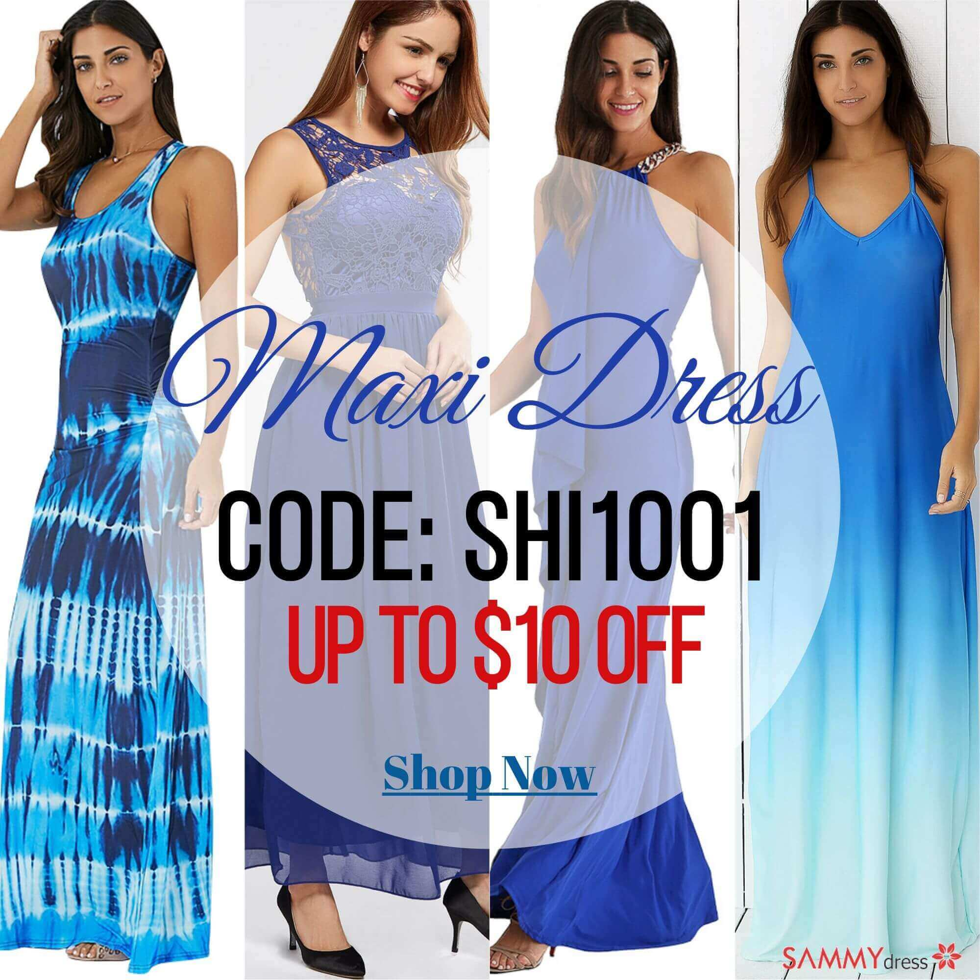 Sammydress Maxi Dress Discount Coupon Code
