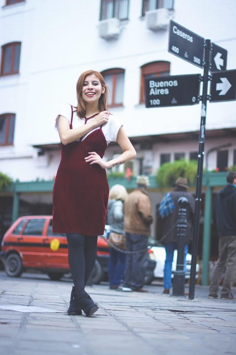 burgundy slip dress lightinthebox review