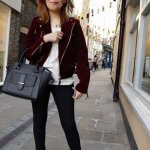 AUTUMN'S NEW BASIC: BURGUNDY VELVET JACKET