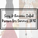 SEXY & FEMININE: ZAFUL SUMMER DRESSES 2018