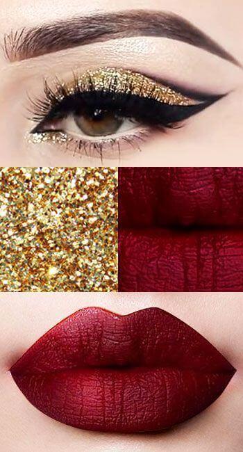 The Xmas Special Part Ii 20 Christmas Makeup Ideas