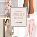 MY FASHIONMIA SPRING 2019 WISHLIST