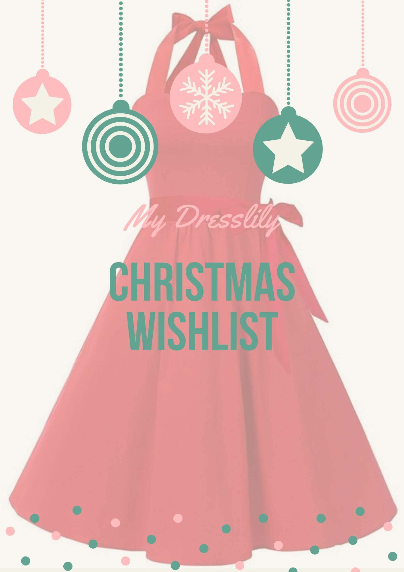 dresslily christmas festive wishlist