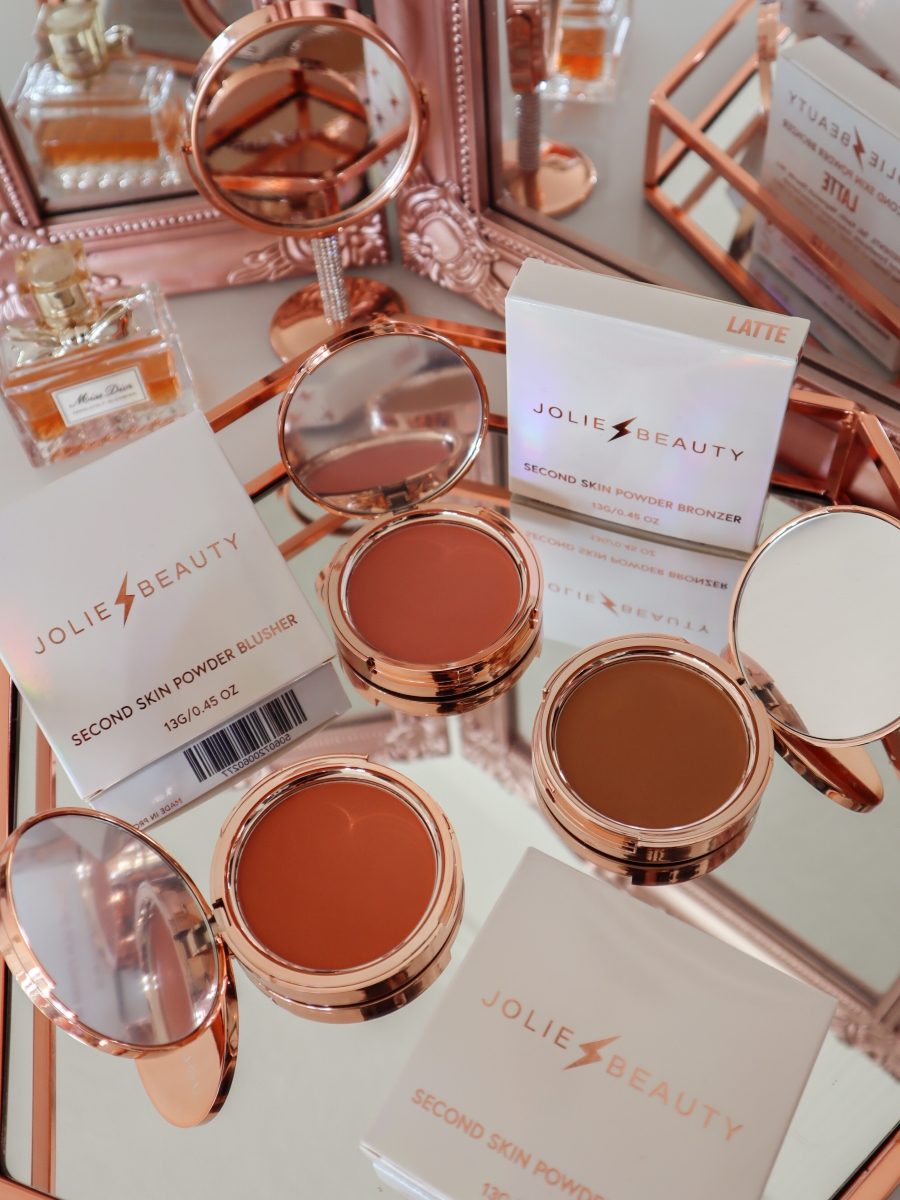 Jolie Beauty Second Skin Powder Blushers and Bronzers