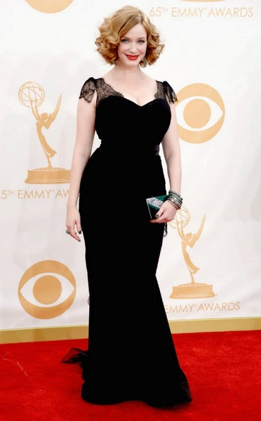 Christina Hendricks - Christian Siriano (372x600)