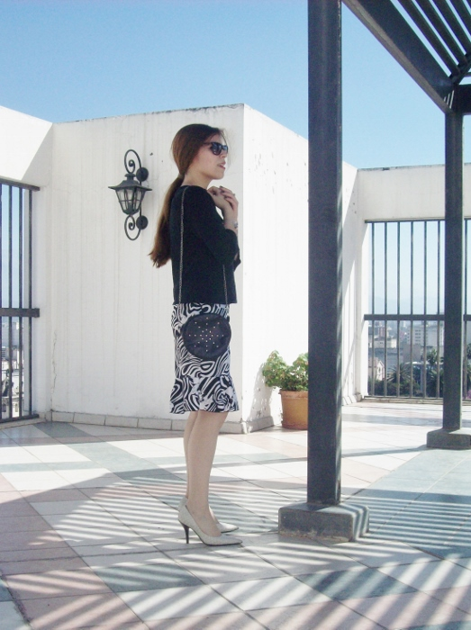 Pattern-flared-skirt-zebra-fashion-blogger-streetstyle-officewear-05