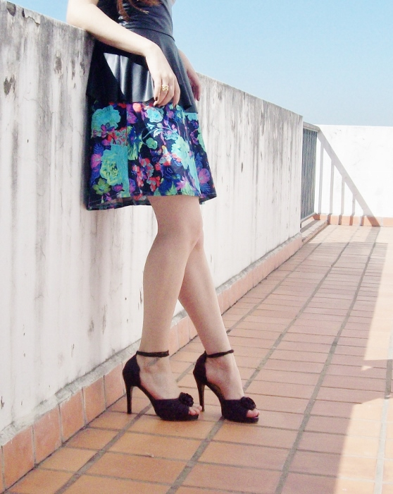 floral-skirt-faux-leather-peplum-top-streetstyle-summer2015-06