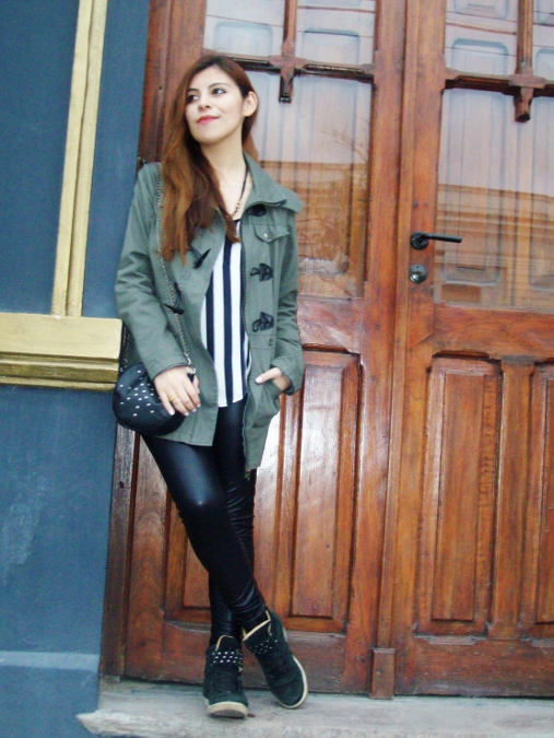 parka-military-green-anorak-stripes-faux-leather-leggings-fall2014-streestyle01