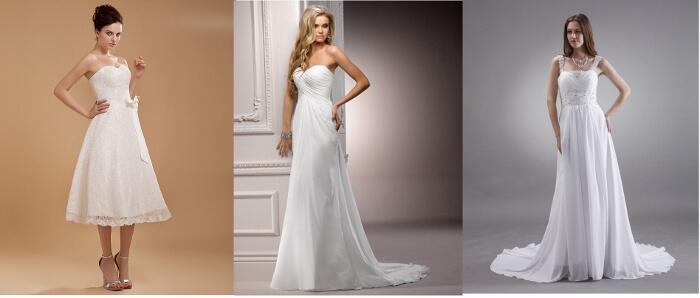 cheap floor lenght wedding dresses chiffon white lace court train 2 (700x298)