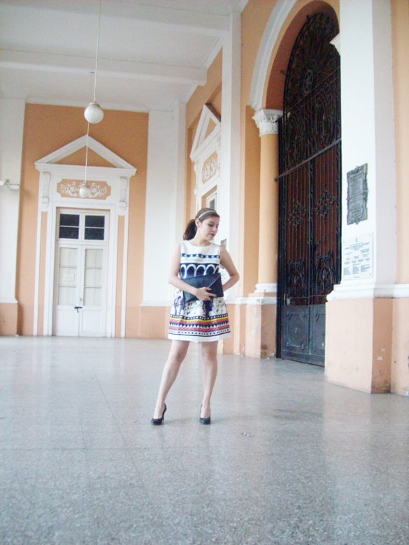 newdress-landscape-printed-fit-and-flare-dress-black-clutch-deborah-ferrero-blog-editorial03
