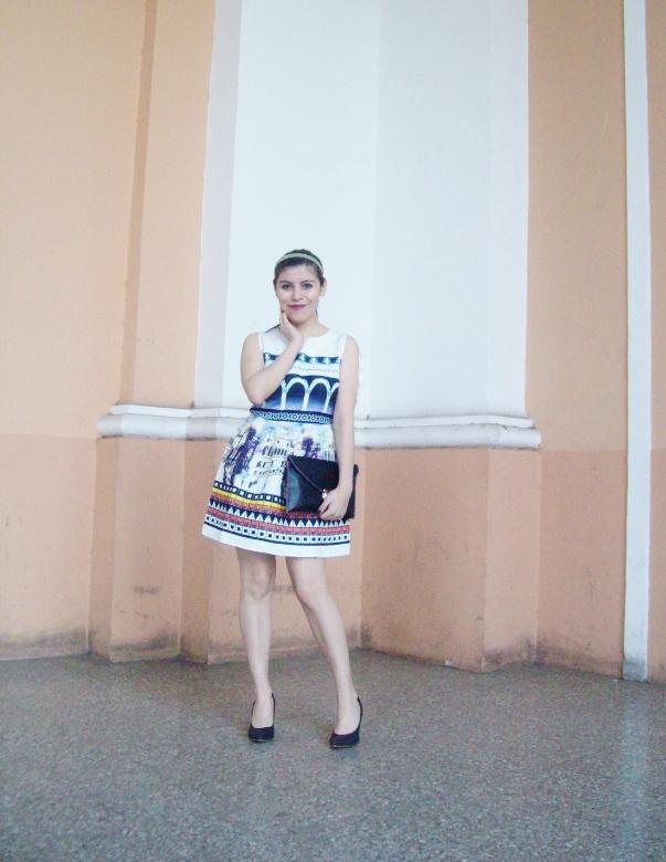 newdress-landscape-printed-fit-and-flare-dress-black-clutch-deborah-ferrero-blog-editorial06