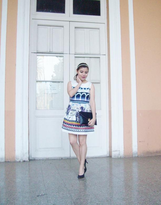 newdress-landscape-printed-fit-and-flare-dress-black-clutch-deborah-ferrero-blog-editorial18