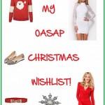 THE CHRISTMAS COUNTDOWN: OASAP WISHLIST