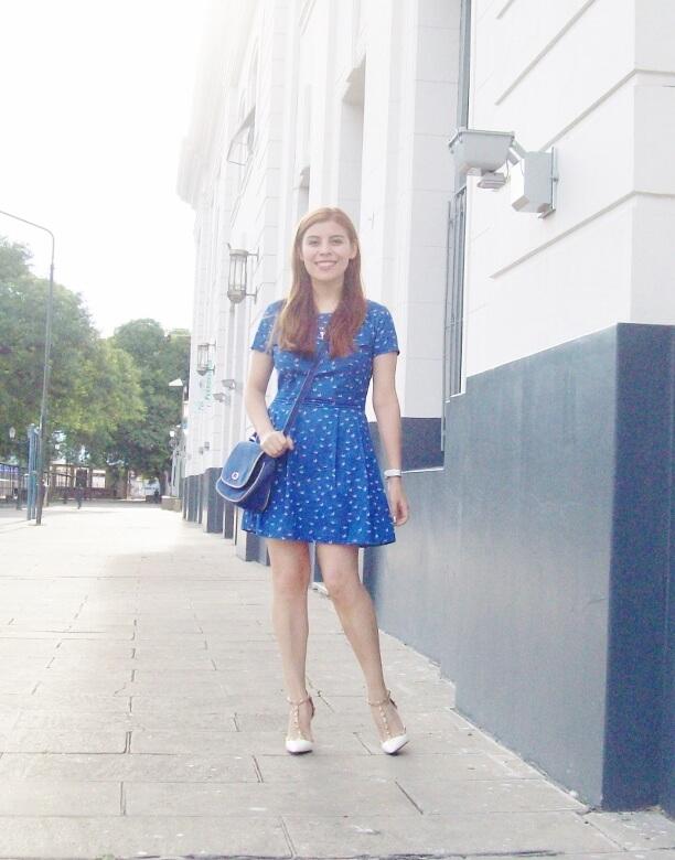 blue-dress-sammydress-rockstud-white-stiletto-pumps-streetstyle-summer2016-trends01