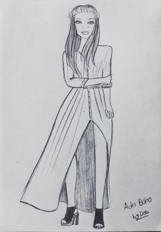 03-adriana boho closet blog illustration by deb