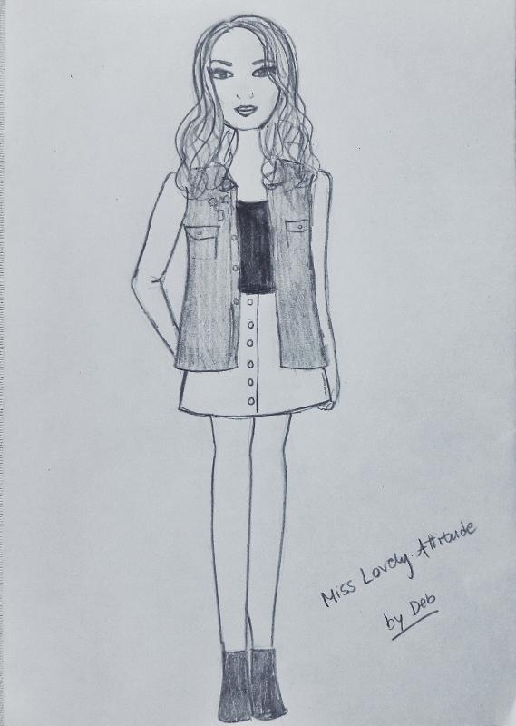 07-honia lovely attitude illustration by db