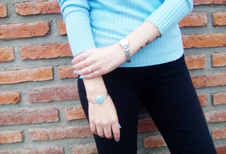 Larimar com atlantis stone healing gemstones larimar bracelet cuff turquoise accessories summer 2016 trend deborah ferrero style by deb 16
