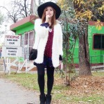 PLAYING RETRO: FURRY COAT + BOHO ACCESSORIES