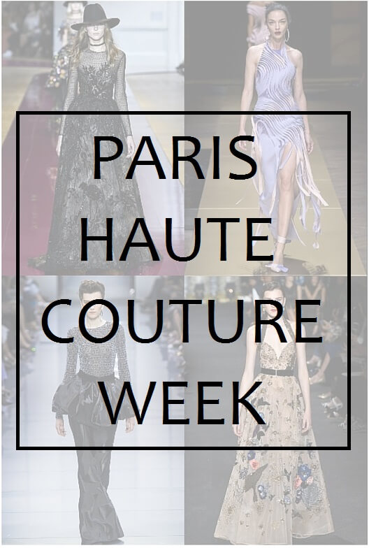 Paris haute couture week fall 2016