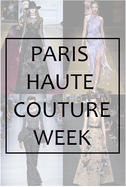 Paris haute couture week fall 2016