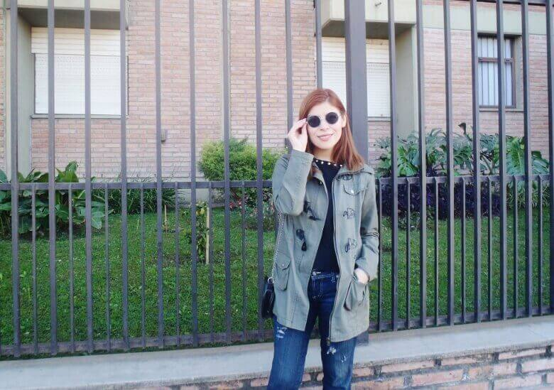 military green parka american mix sweater ripped distressed jeans deborah ferrero style by deb fall 2016 trends10