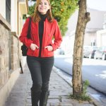 OFF GUARD: RED MILITARY JACKET & BOOTS