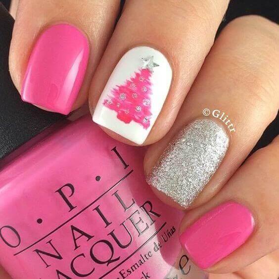 09-nailart-in-pink-glittr
