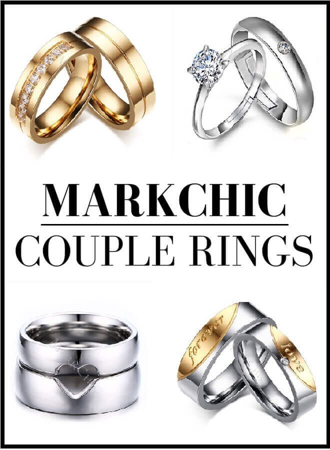 Markchic couple rings style by deb