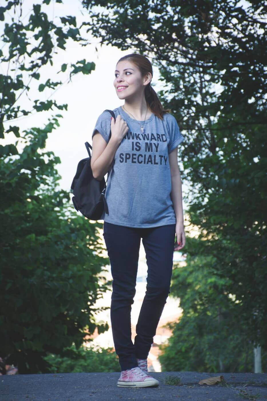 zaful graphic tshirt casual streetstyle summer 2017 trends style by deb04