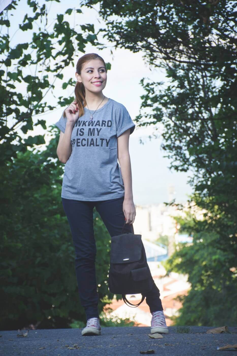 zaful graphic tshirt casual streetstyle summer 2017 trends style by deb06