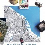 MODERN MAP ART: BUENOS AIRES CITY