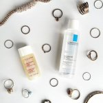 REVIEW: LA ROCHE-POSAY MICELLAR WATER & CLARINS TONING LOTION