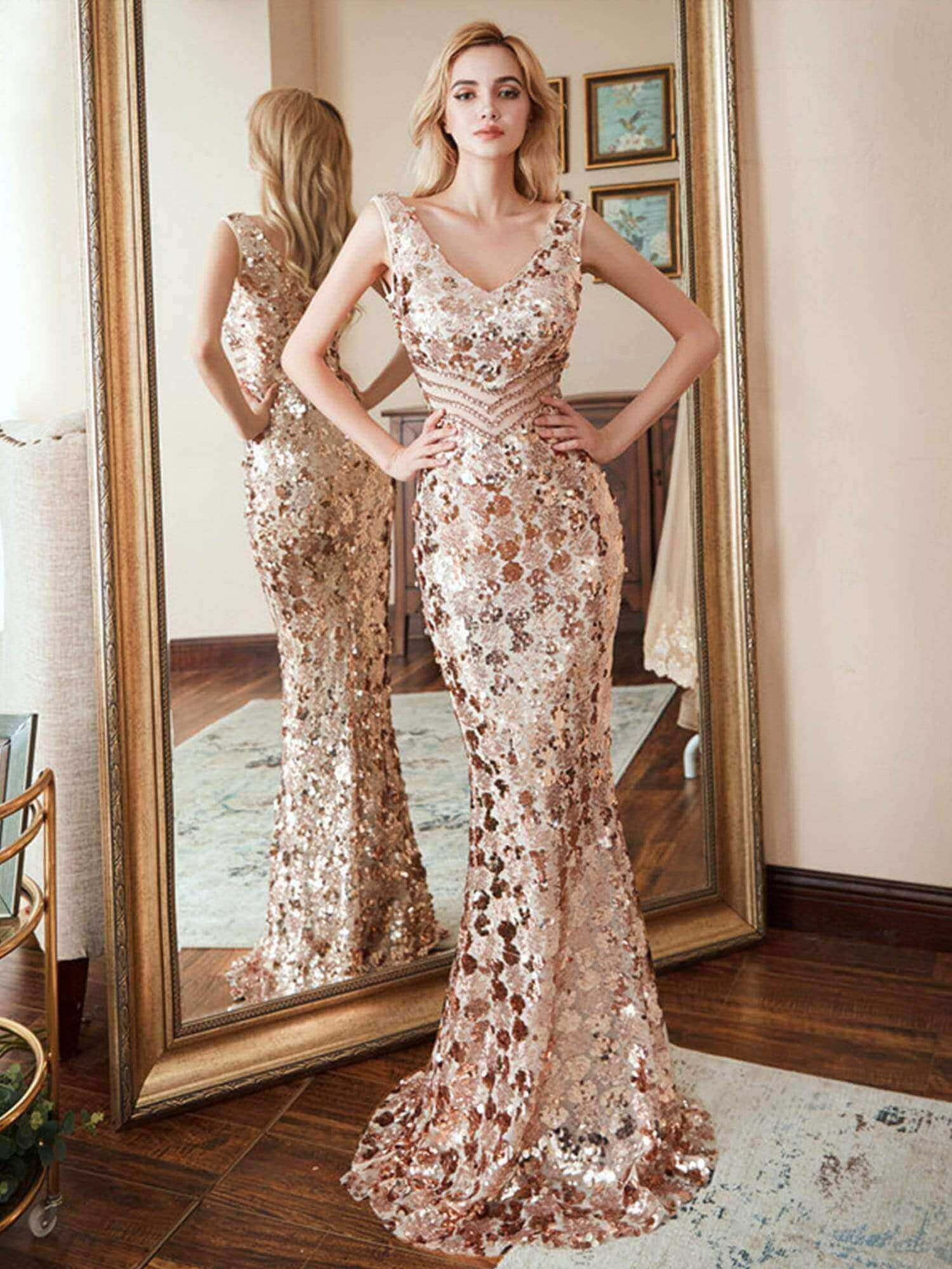 ever pretty gold expensive looking yet affordable cheap gown