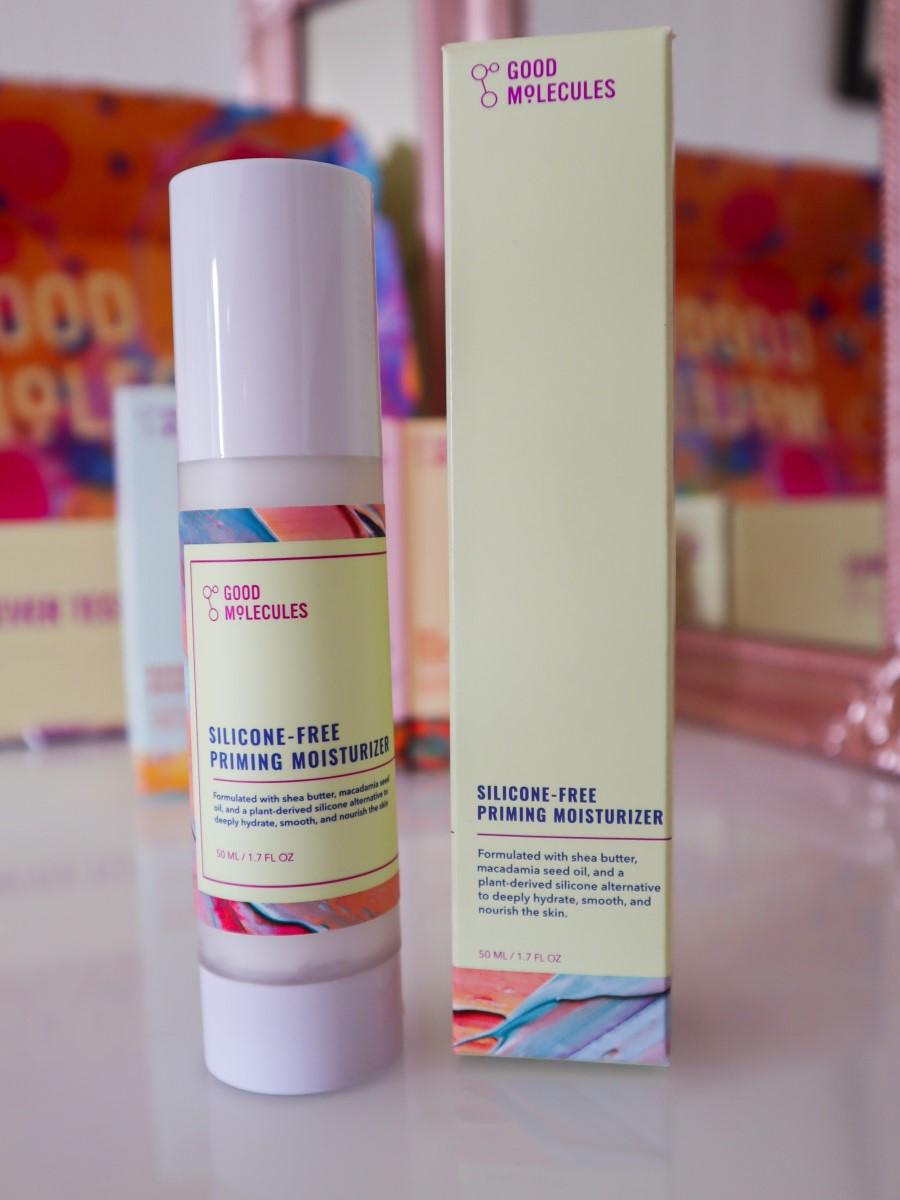 review silicone-free priming moisturiser